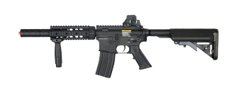 Dboys BI-3881M M4 CQB SD RIS AEG Metal Gear, Full Metal Body, Barrel Extension