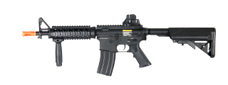 Dboys BI-3981M M4 CQB RIS Auto Electric Gun Metal Gear, Full Metal Body