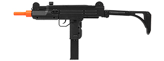WELL D2811 UZI PLASTIC GEAR AIRSOFT GUN (COLOR: BLACK)
