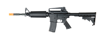 Golden Eagle JG FB6604 Super Enhanced M4A1 Carbine AEG Metal Gear, Full Metal Body in Black