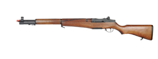 ICS-202 M1 GARAND AEG RIFLE w/REAL WOOD STOCK