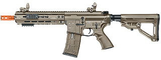 ICS-IMT-271-1 CXP-HOG KEYMOD FULL METAL AEG (REAR WIRED) 9 INCH RAIL VERSION (COLOR: TAN)