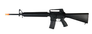 A&K IU-M16A3B-NB M16A3B AEG Metal Gear, Polymer Body, Fixed Stock, Battery and Charger Not Included