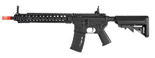 IU-URX-NB M4 w/URX3 RAIL SYSTEM FULL METAL AEG (COLOR: BLACK