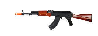 JG FULL METAL AK-74 EBB AIRSOFT AEG RIFLE - GENUINE WOOD