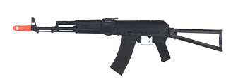 JG JG1020 AKS-74M AEG Metal Gear, Electric Blow Back System, Full Metal Body, Metal Side Folding Stock