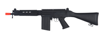 JG JG3000 FAL AEG Metal Gear, Full Metal Body w/ Fixed Stock