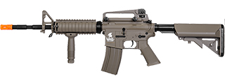 Lancer Tactical LT-04T M4A1 R.I.S w/ Adjustable Stock, Tan