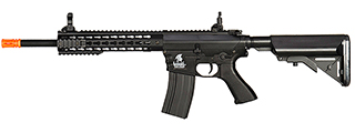 LT-12BK M4 KEYMOD 10 INCH AEG METAL GEAR (COLOR: BLACK
