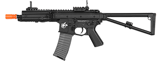 LT-PDW KNIGHTS ARMAMENT COMPANY PDW AIR SOFT AEG POLYMER BODY (COLOR: BLACK)