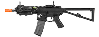 LT-PDWM KNIGHTS ARMAMENT COMPANY PDW FULL METAL AIRSOFT AEG (COLOR: BLACK)
