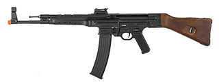 Lancer Tactical M2010-A-NB MP44 Auto Electric Gun Metal Gear, Full Metal Body, Wood Stock