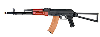 DBOYS RK-03 AKS-74 FULL METAL AIRSOFT AEG w/FOLDING STOCK (COLOR: BLACK & WOOD)