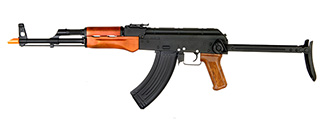Dboys RK-10 AK47 Auto Electric Gun Metal Gear, Full Metal Body, Real Wood, Metal Under Folding Stock