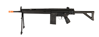 JG T3-MC51A AEG Metal Gear, Polymer Body, Integrated Metal Bipod, Folding Stock
