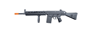 JG T3-RAS T3A3 RIS AEG Metal Gear, Polymer Body w/ Vertical Foregrip in Black Color