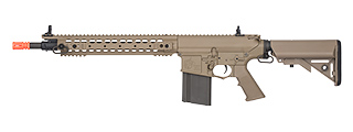 ARES-SR-011E KNIGHTS ARMAMENT SR-25 URX AIRSOFT AEG W/ CRANE STOCK (TAN)