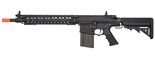 ARES-SR-012E KNIGHTS ARMAMENT SR-25 URX AIRSOFT AEG W/ CRANE STOCK (BLACK)