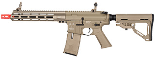 ICS CXP-MMR M4 SBR ELECTRIC BLOWBACK AIRSOFT AEG RIFLE (TAN)