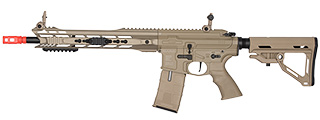 ICS CXP M.A.R.S. CARBINE SSS BLOWBACK ECU AIRSOFT AEG RIFLE - TAN