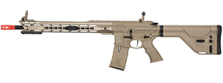 ICS CXP M.A.R.S. DMR ELECTRIC BLOWBACK AIRSOFT AEG RIFLE - TAN