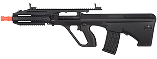 JG0450B AUG A3 RIFLE QUAD RIS AEG AIRSOFT RIFLE (BLACK)