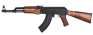 LCT-LCK47-AEG LCK47 FULL METAL AIRSOFT AK47 SERIES AEG W/ REAL WOOD