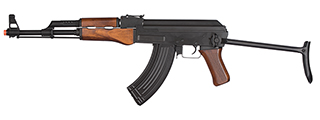 LCT-LCK47S-AEG LCK47S FULL METAL AIRSOFT AK47 SERIES AEG W/ REAL WOOD