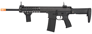 "LT-201BA WARLORD 10.5"" AEG TYPE A CARBINE AIRSOFT RIFLE (BLACK)"