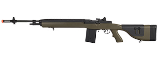 LT-732DG M14 AEG W/ ADJUSTABLE CHEEK REST (OD GREEN)