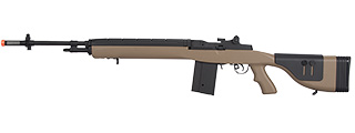 LT-732DT M14 AEG W/ ADJUSTABLE CHEEK REST (TAN)