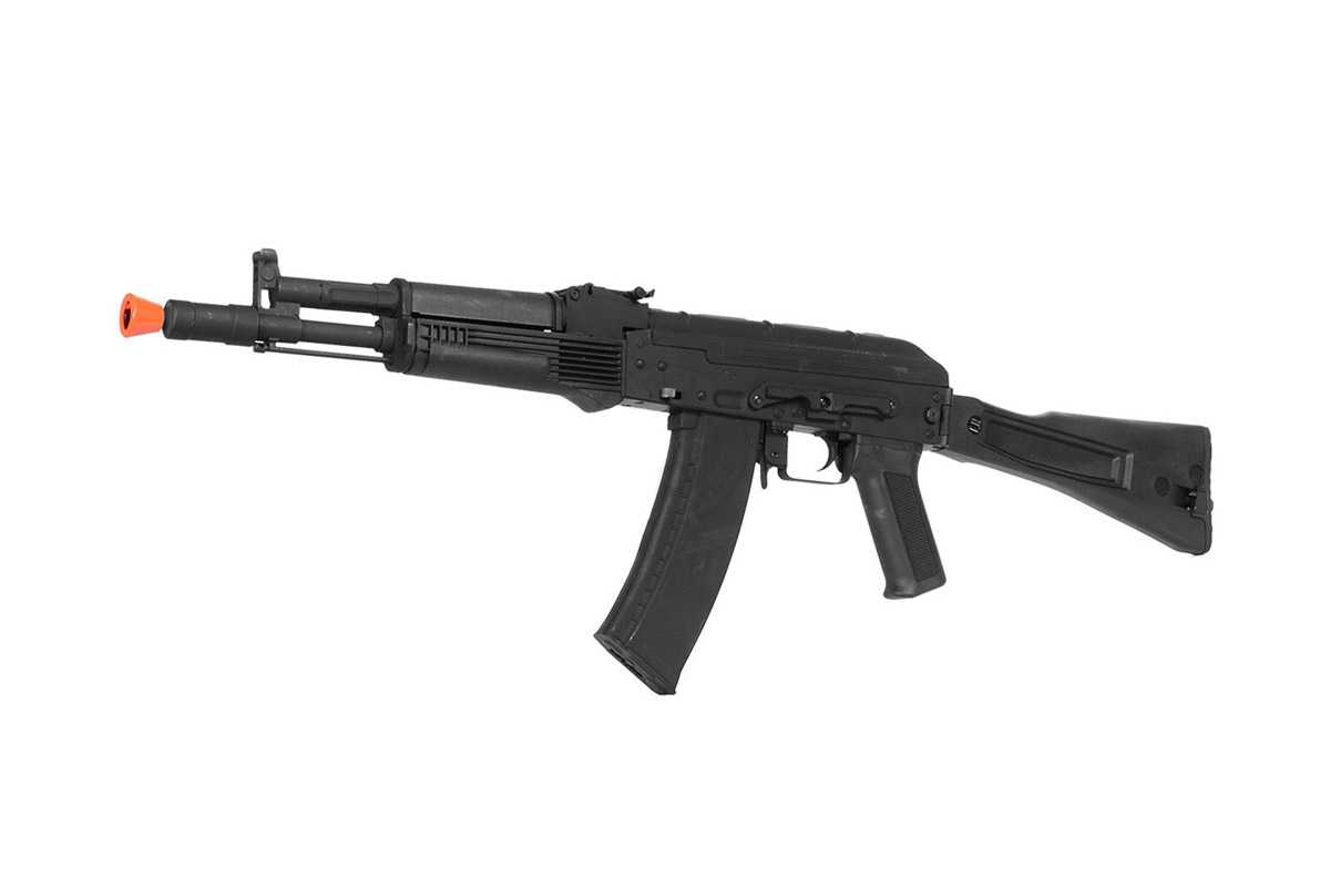 LT-747D AIRSOFT AEG AK-105 RIFLE W/ SIDE-FOLDING STOCK