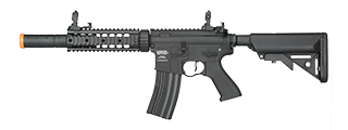 Lancer Tactical LT-15 ProLine Series SD M4 Airsoft AEG [HIGH FPS] (BLACK)