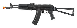 LT-740B AIRSOFT AKS-104 AEG FULL METAL FOLDING STOCK (BLACK)