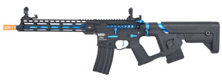 Lancer Tactical Enforcer BLACKBIRD Skeleton AEG w/ Alpha Stock [HIGH FPS] (BLACK/BLUE)