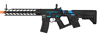 Lancer Tactical Enforcer NIGHT WING Skeleton AEG [HIGH FPS] (BLACK + NAVY BLUE)