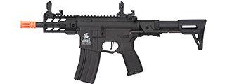 "Lancer Tactical Enforcer Hybrid Gen 2 BATTLE HAWK 4"" PDW AEG [LOW FPS] (BLACK)"