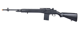 AGM M14 SOCOM Airsoft DMR AEG Rifle w/ Battery and Charger (BLACK)